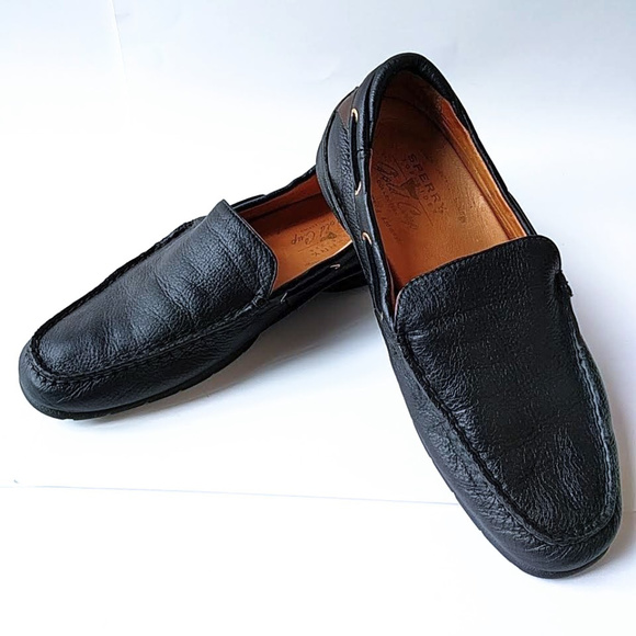 Sperry Shoes   Sperry Men Black Leather